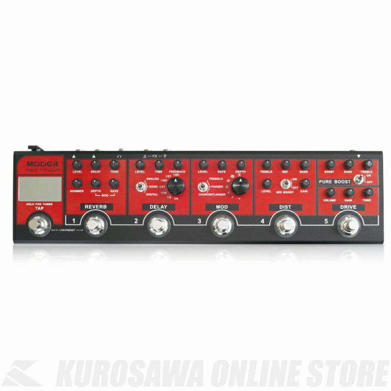 Mooer / Red Truck (エフェクター/マルチエフェクター)(送料無料)(ご予約受付中) 【ONLINE STORE】