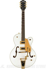 Gretsch G5420TG-FSR Electromatic Hollow Body Single-Cut with Bigsby White (エレキギター)(送料無料) 【ONLINE STORE】