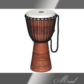 "Meinl マイネル Original African Style Rope Tuned Wood Djembe 10"" Bundle w/Bag MDJB-S [ADJ2-M+BAG] マホガニー1本木製ジャンベ 【送料無料】【ONLINE STORE】"