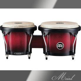 "Meinl マイネル Headliner Series Wood Bongo 6 3/4""&8"" Wine Red Burst [HB100WRB] 木製ボンゴ 【送料無料】【ONLINE STORE】"
