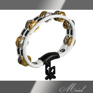 Meinl マイネル Recording Combo Mountable ABS Tambourine Dual Alloy Jingles Steel/Solid Brass [TMT2M-WH] マウンタブル・タンバリン【ONLINE STORE】