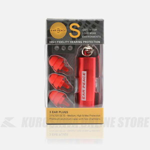 EAR PEACE EARPEACE S (作業用耳栓) RED 【ONLINE STORE】