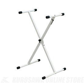 KIKUTANI KS-29 WH《スチール製X型キーボード・スタンド》 (ご予約受付中)【ONLINE STORE】