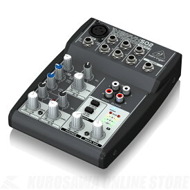 BEHRINGER 502 XENYX《べリンガー/アナログミキサー》 【ONLINE STORE】