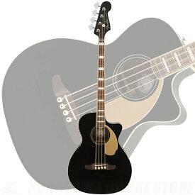 Fender Kingman Bass, Walnut Fingerboard, Black《アコースティックベース》【送料無料】【ご予約受付中】【ONLINE STORE】