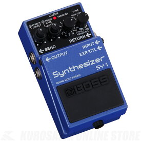BOSS SY-1(Synthesizer)【送料無料】《2019年9月14日発売予定・ご予約受付中》【ONLINE STORE】