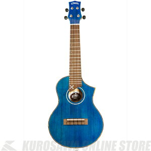 KIWAYA KPC-SNB 蒼影/BLUE 【送料無料】【ウクレレ】《コンサートサイズ》【ONLINE STORE】
