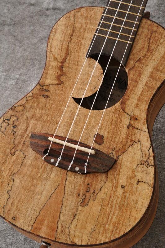 Luna Guitars Uke Concert spalt maple crescent sd hole 《コンサートウクレレ》【送料無料】【ONLINE STORE】