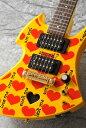 Burny YELLOW HEART Jr. ミニギター【送料無料】【X JAPAN hide】【次回入荷分ご予約受付中】【ONLINE STORE】