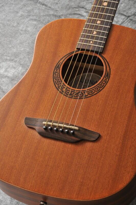Luna Guitars Safari Muse Mahogany(ご予約受付中)【ONLINE STORE】