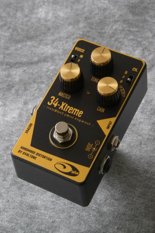 Ovaltone 34-Xtreme 《エフェクター/ディストーション》【送料無料】【ONLINE STORE】