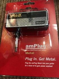 【店頭在庫品数量限定即納】VOX amPlug2 Metal 《ギター用ヘッドフォンアンプ》【G-CLUB渋谷】