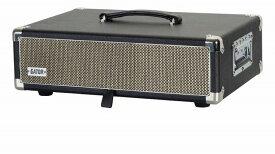 【納期10月予約ページ】GATOR GATOR GR-RETRORACK-2BK Vintage Amp Vibe ラックケース 2U ブラック 【G−CLUB渋谷】【送料無料】