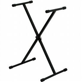 KIKUTANI KS-29 BLK(ブラック) [KIKUTANI スチール製X 型キーボード・スタンド] 【G-CLUB渋谷】