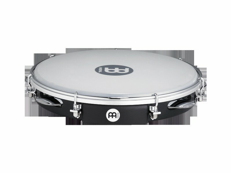"""MEINL PA10ABS-BK [Traditional ABS Pandeiro, synthetic head 10""""] 【G-CLUB渋谷】"""