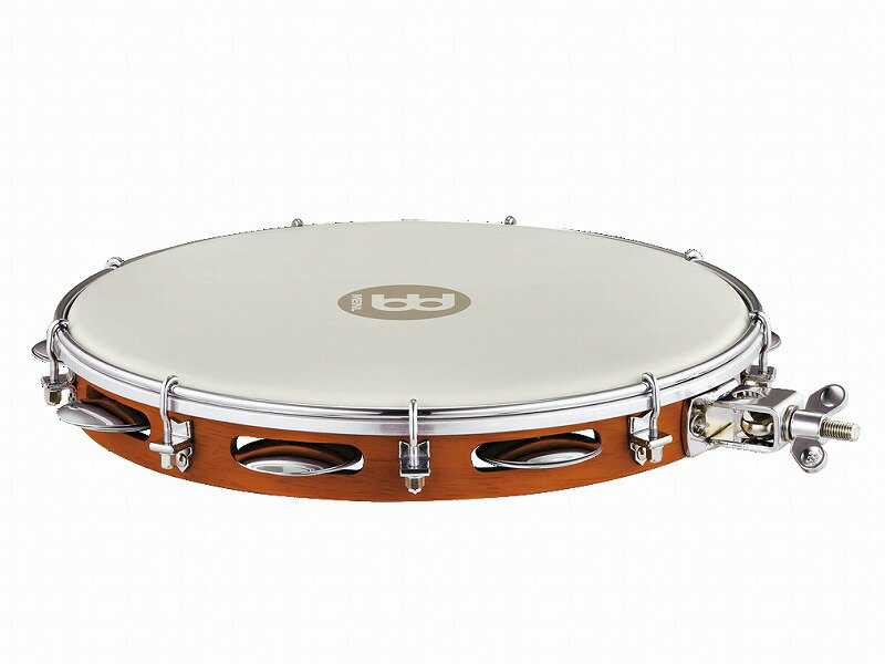 """MEINL PA12CN-M-TF-H [Traditional Wood Pandeiro With Holder 12""""] 【G-CLUB渋谷】"""