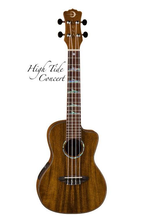 Luna Guitars High Tide Concert Koa [UKE HTC KOA] 《コンサートウクレレ》【送料無料】【ONLINE STORE】