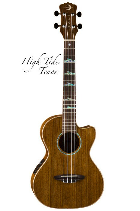 Luna Guitars High Tide Tenor Ovankol[UKE HTT OVA]《テナーウクレレ》【送料無料】【ONLINE STORE】