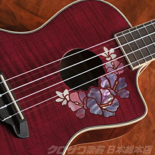 Luna Guitars ルナ ギターズ UKE FLORAL コンサート【送料無料】(ご予約受付中)【ONLINE STORE】
