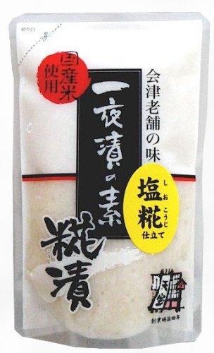 【売り切れ続出!早いもの勝ち!】会津天宝  国産米使用 塩糀(塩麹) 【380g】