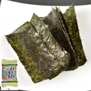 味付け海苔 4袋詰(8切8枚)板のり4枚相当 わさび ピリ辛 味付き海苔 味のり