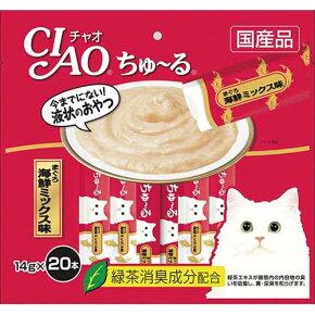 いなば チャオ ちゅーる(ちゅ〜る) まぐろ 海鮮ミックス味 14g×20本
