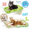Doggy man sherbet touch quilting mat summer color design M (green / pink)