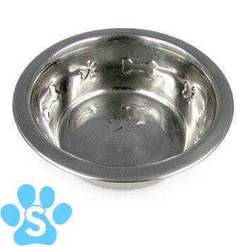 キンペックス シンプルボウル 皿型 Sサイズ(11cm) 【犬の食器(しょっき)/小型犬用/メタル・ステンレス/フードボウル】【犬用品/ペット・ペットグッズ/ペット用品】