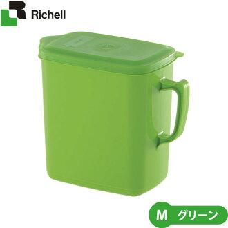 里歇尔派上用场的宠物食品投手 M 绿色