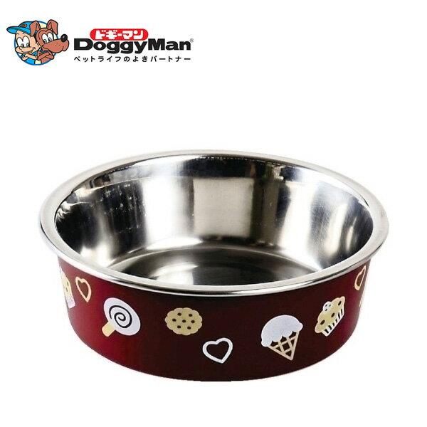 ドギーマン ステン食器ごはんにゃわん犬用 SS ブラウン 【犬の食器(しょっき)/メタル・ステンレス/フードボウル】【犬用品/ペット・ペットグッズ/ペット用品】