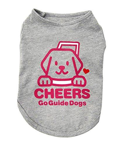 アスク チャリティTシャツC グレー D3号 【ドッグウェア/犬服・犬の服(洋服)/T-Shirt】【犬用品/ペット・ペットグッズ/ペット用品】【DM便対応】