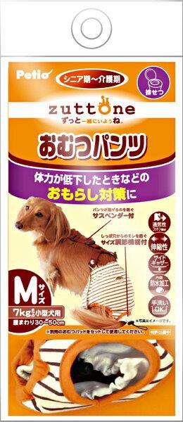 ペティオ老犬介護用おむつパンツサスペンダー付きM(小型犬用)