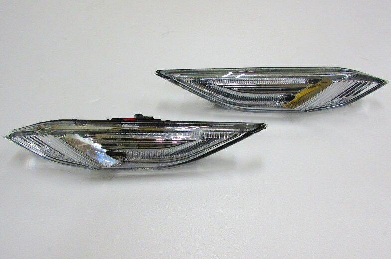 【代引き出荷可能/送料無料】LEDサイドマーカー左右セット/ポルシェ カイエン 958 2010y3〜以降