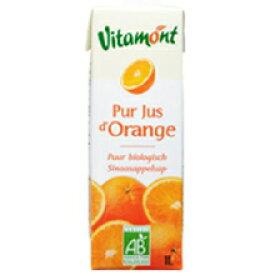 ヴィタモント オーガニック オレンジジュース 1L×8個セット【沖縄・別送料】【MIE PROJECT】【05P03Dec16】