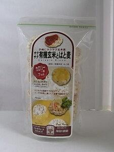 サクサク有機玄米とはと麦 40g×6個セット【沖縄・別送料】【尾田川農園】【05P03Dec16】