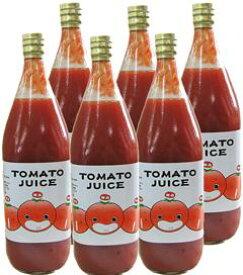 なかや農園のトマトジュース(無塩)1L×6本セット【同梱不可】【なかや農園】【05P03Dec16】