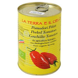 有機 ホールトマト 400g【ラ・テラ・エ・イル・チェロ】【05P03Dec16】