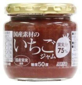 国産素材のいちごジャム 200g【マクロビオティック・ムソー】【05P03Dec16】
