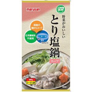 野菜がおいしいとり塩鍋スープ 600g×6pセット(冬季限定品)【沖縄・別送料】【マルサンアイ】【05P03Dec16】