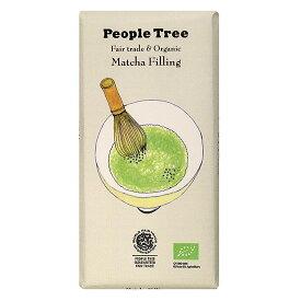 フェアトレードカンパニー PeopleTree(ピープルツリー)チョコレート 抹茶フィリング 100g