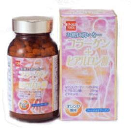 【健康フーズ】 コラーゲン+ヒアルロン酸 300粒×5個買うと1個おまけ!!《送料無料》【05P03Dec16】
