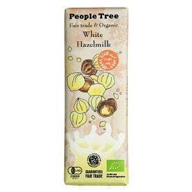フェアトレードチョコレート オーガニック ホワイト・ヘーゼルミルク 50g×10個セット【沖縄・別送料】