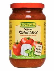 トマトソース・リコッタチーズ Delicacy Ricotta 340g【Rapunzel】【05P03Dec16】
