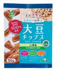 ヴィーガン対応 大豆チップスしお味 50g【サンコー】【05P03Dec16】