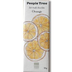 【People tree】 フェアトレード・チョコレート/オレンジミルク 50g フェアトレードカンパニー (冬季限定品)【夏季6〜9月・クール便216円別途】【05P03Dec16】