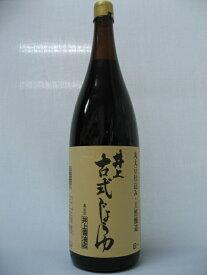 井上古式醤油 1.8L×6本セット【同梱不可】【井上醤油店】【05P03Dec16】