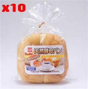 天然酵母パン オレンジ(1個入り)×10個セット【10個買うと1個おまけ付・計11個】【沖縄・別送料】【健康フーズ】【05P03Dec16】