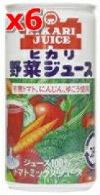 野菜ジュース(有塩) 190g×6本セット【光食品株式会社】【05P03Dec16】