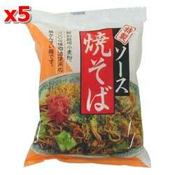 ソース焼きそば 114g×5袋セット【桜井食品】【05P03Dec16】