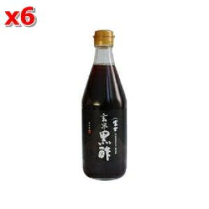 富士玄米黒酢 500ml×6個セット【飯尾醸造】【05P03Dec16】